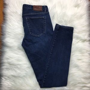 MADEWELL Skinny Low Rise Medium Wash Jeans 26X32